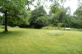 The main lawn